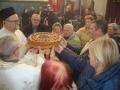 Osvećen slavski kolač