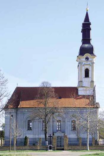 banatsk arandjelovo crkva